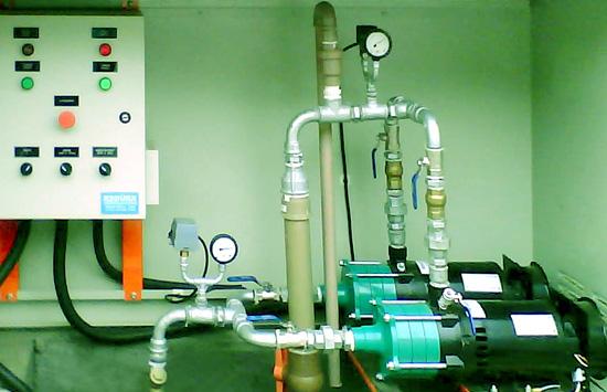 Manutenção e instalação de Sistema de Pressurização de água